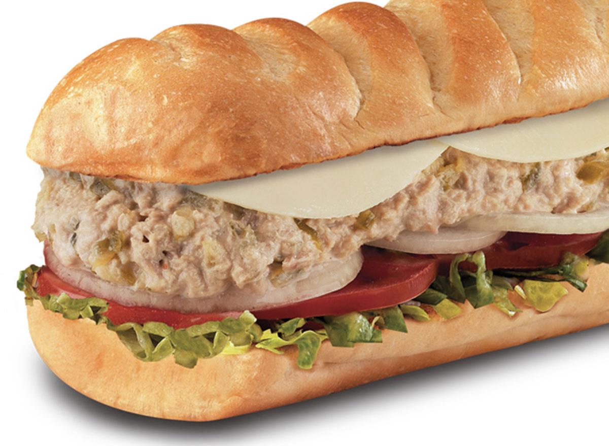 firehouse subs tuna sandwich