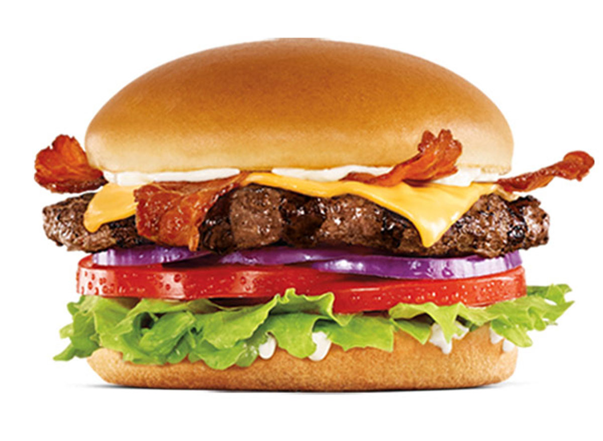 hardees Bacon Cheese Thickburger