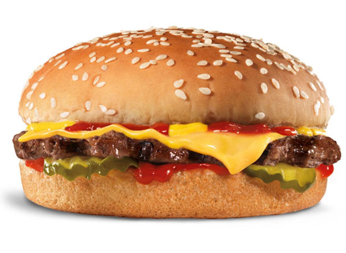 hardees small cheeseburger