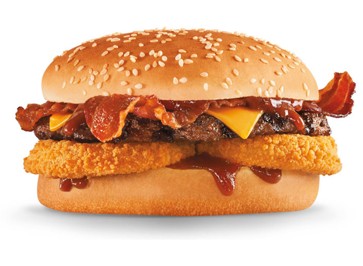 hardees Western Bacon Cheeseburger