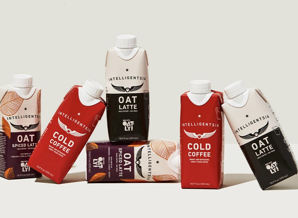 Intelligentsia oat latte