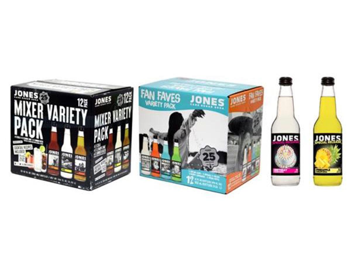 jones mixer variety pack