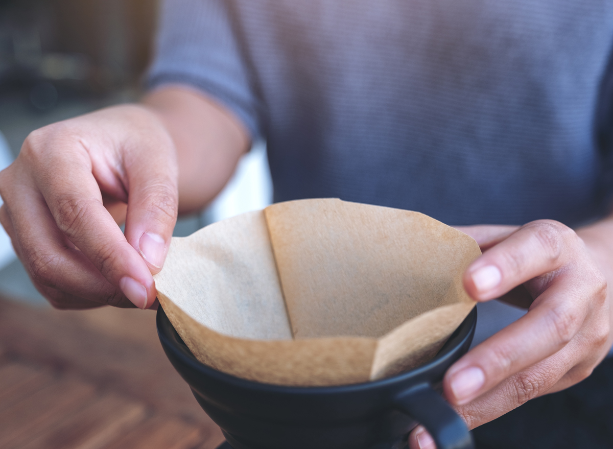 paper coffee filter for pour over