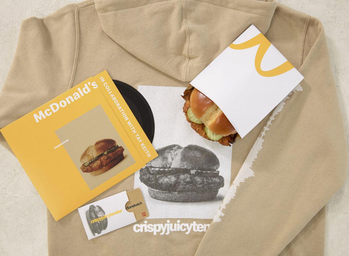 mcdonalds chicken sandwich