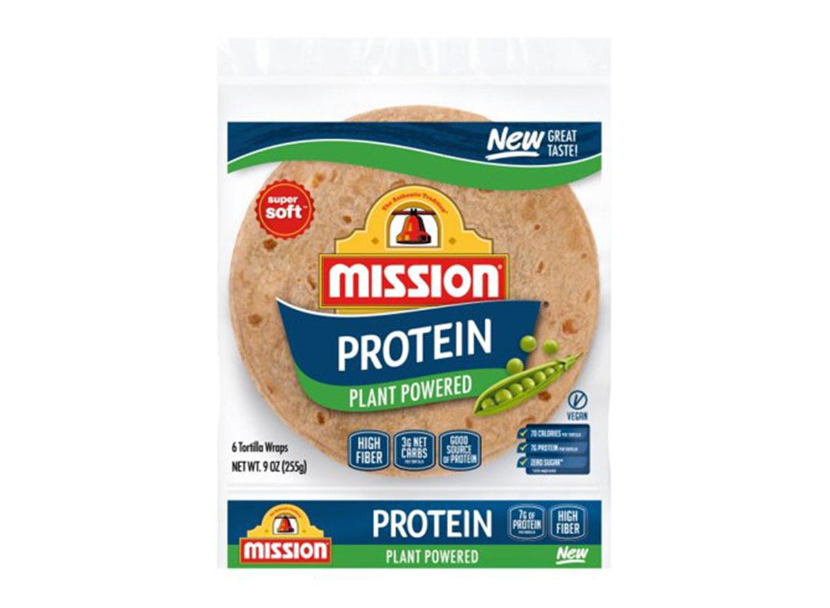 mission protein tortillas