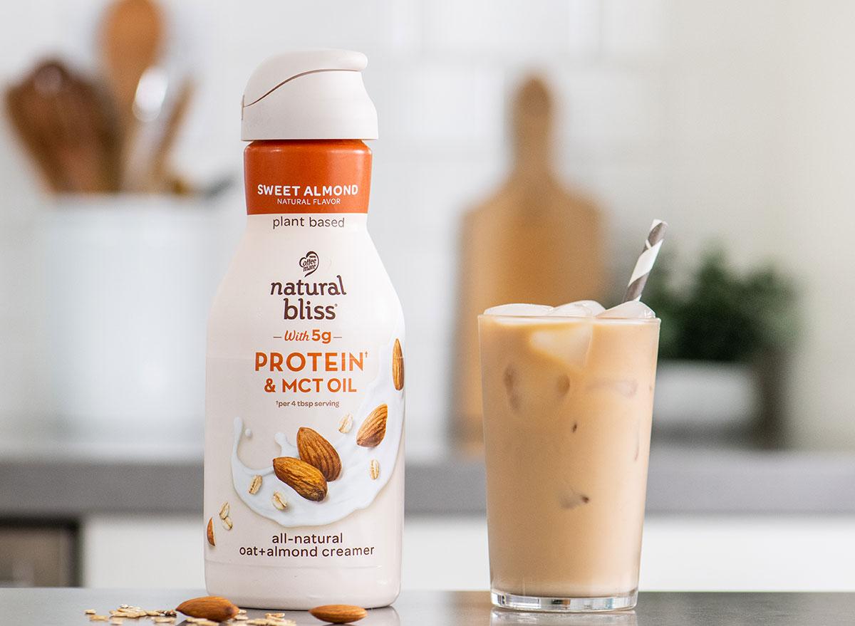 natural bliss oat almond creamer