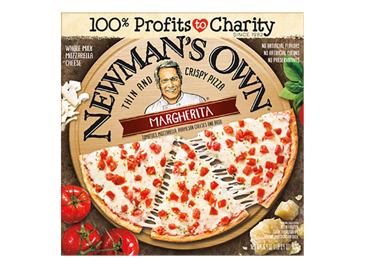 newmans own frozen margherita pizza