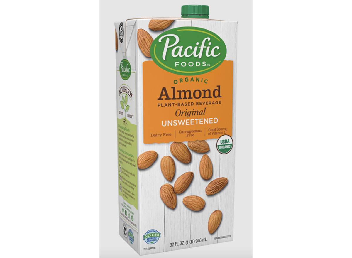 pacific foods almond beverage