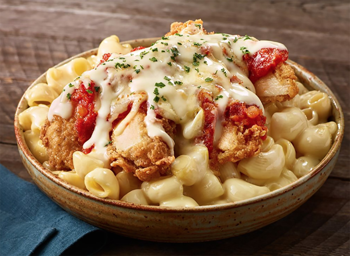 ruby tuesday chicken parmesan mac and cheese
