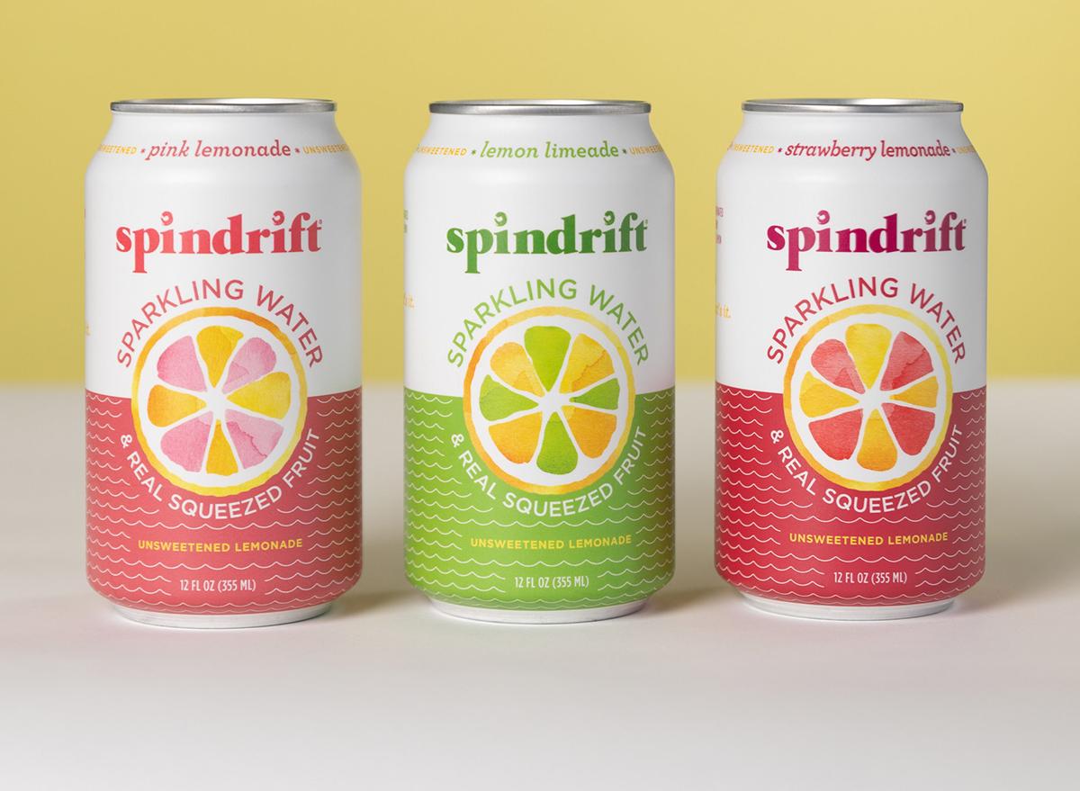 Spindrift lemonade