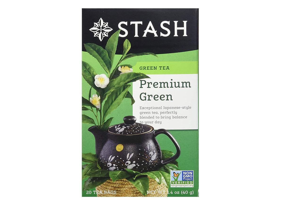 box of stash green tea