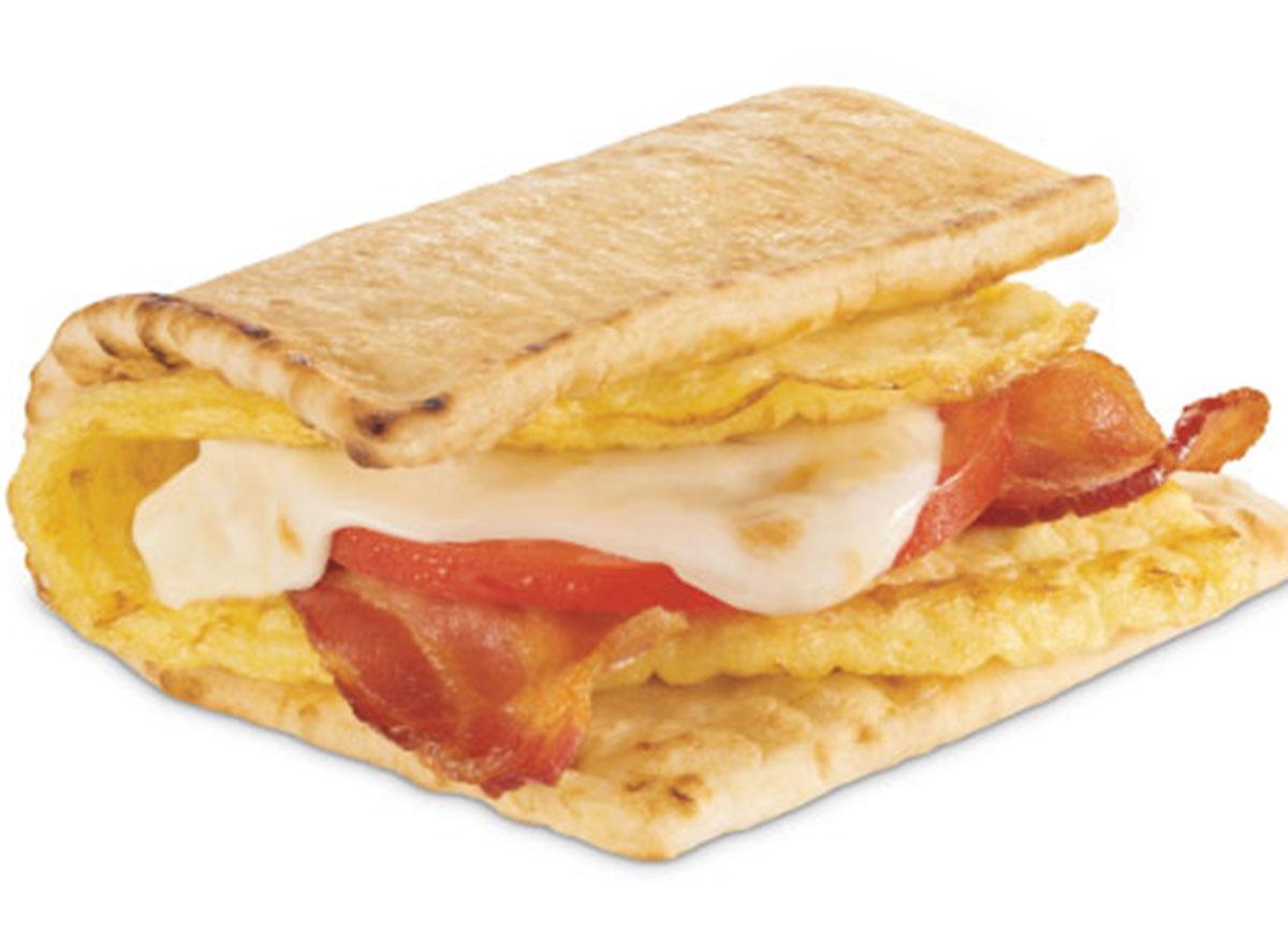 subway bacon egg cheese