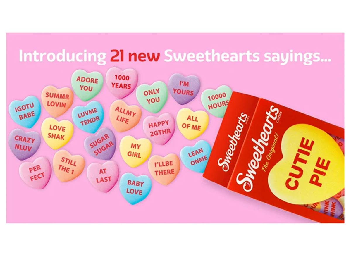 sweethearts sayings