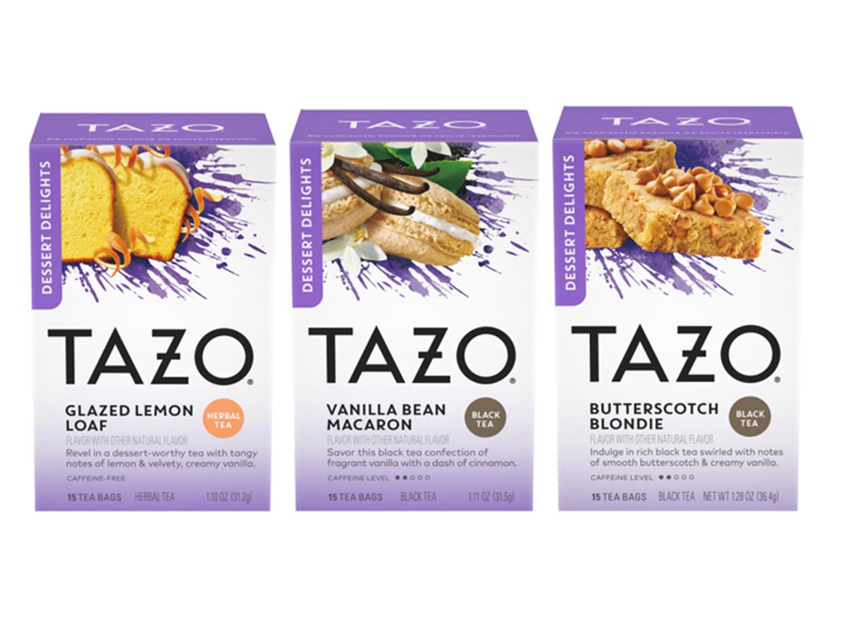 TAZO dessert tea