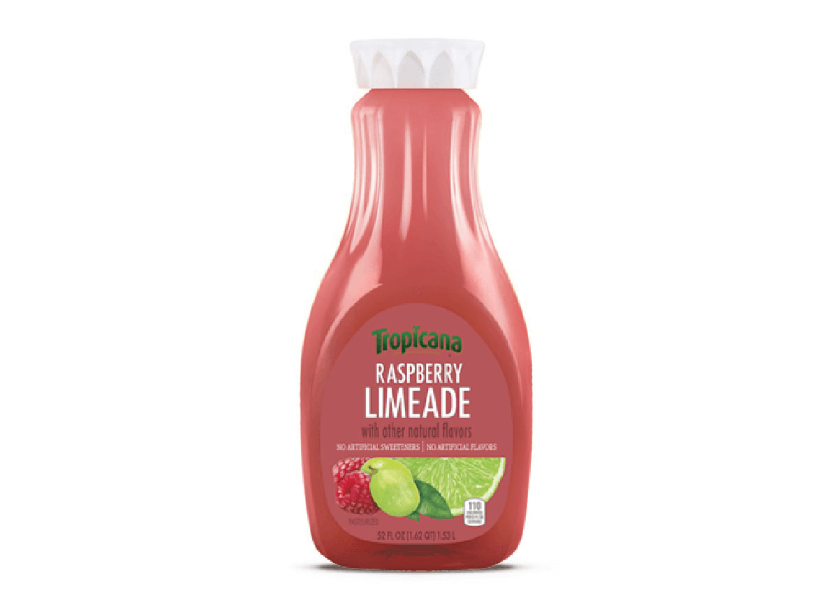 tropicana rasberry lemonade