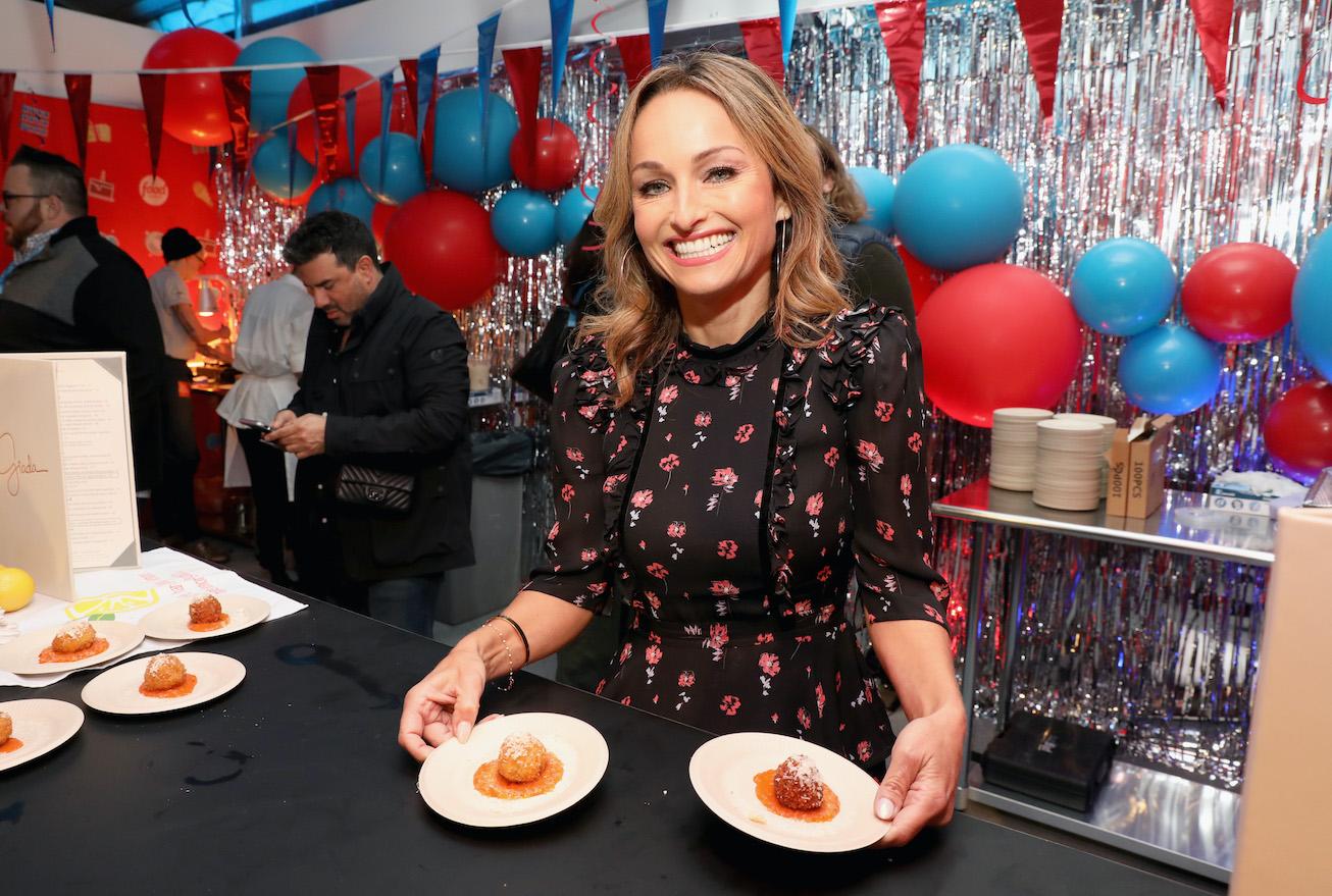 Giada De Laurentiis food show