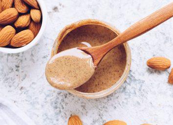 almond butter spoon