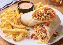 applebees chicken fajita rollup