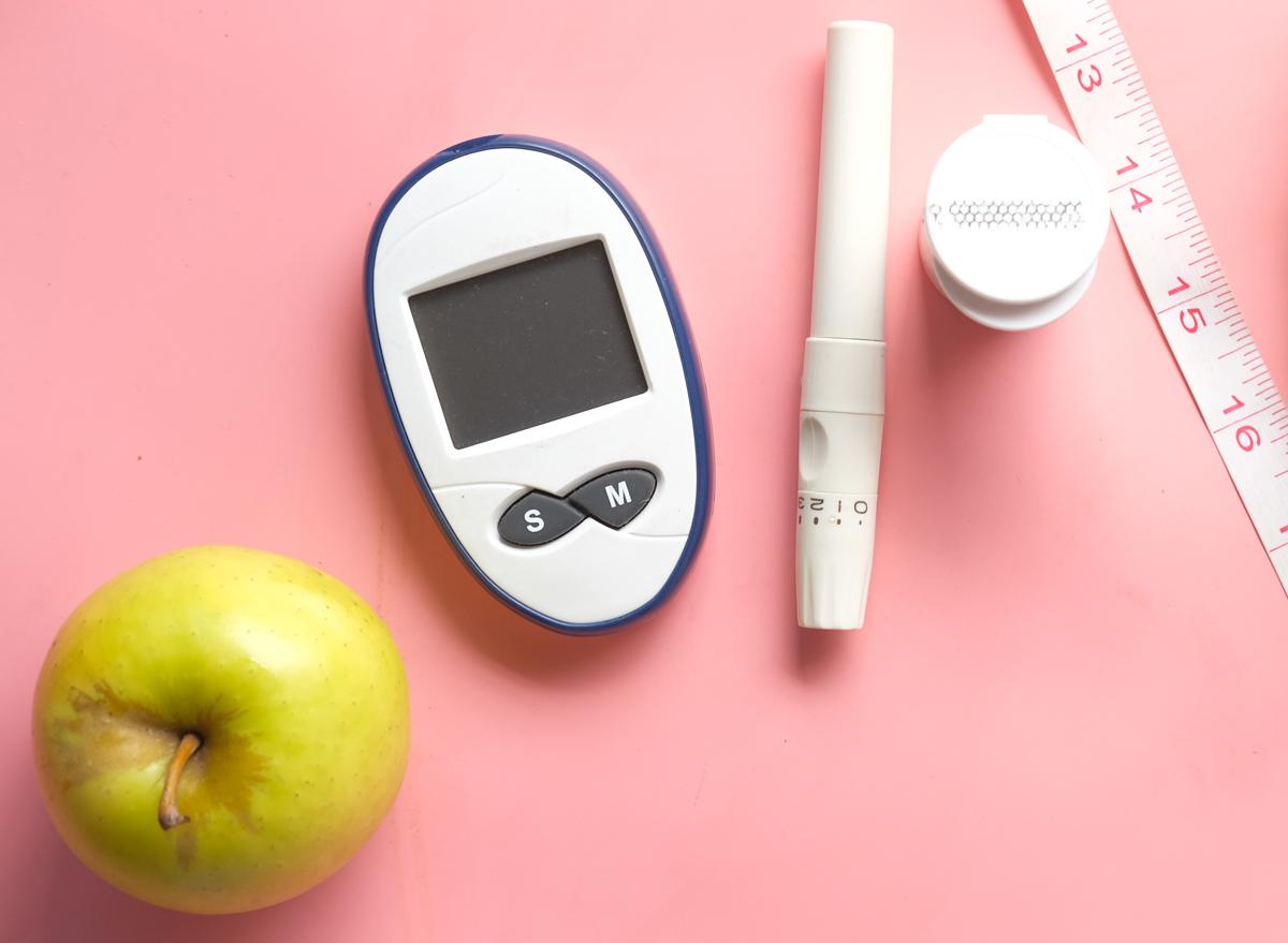 apples diabetes insulin measure