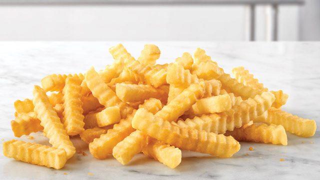 arbys crinkle fries
