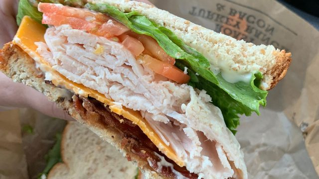 arbys sandwich