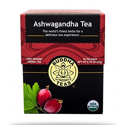 pink and red box of organic tea
