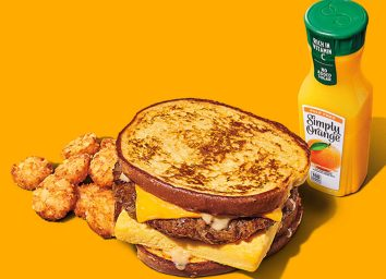 burger king french toast sandwich