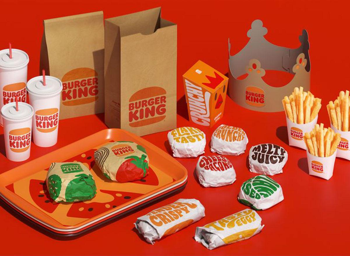 burger king new packaging