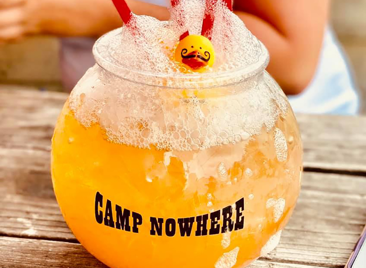 cocktail from camp nowhere