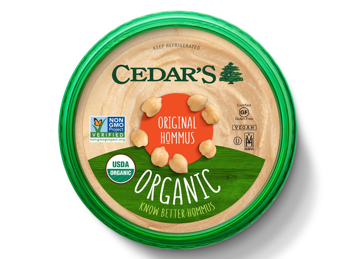 tub of cedars original hummus