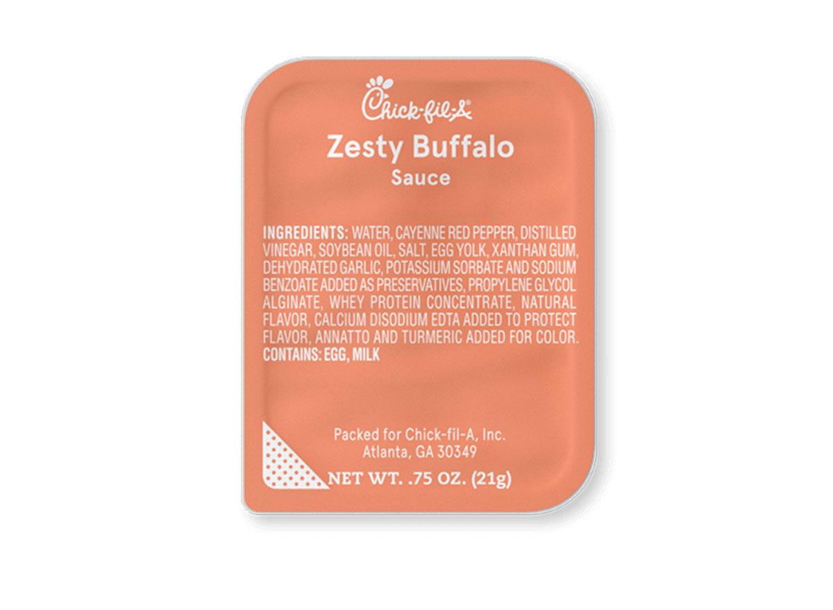 chick fil a zesty buffalo sauce