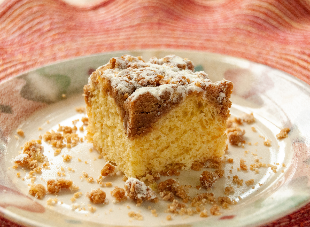 coffee crumb cake pastry