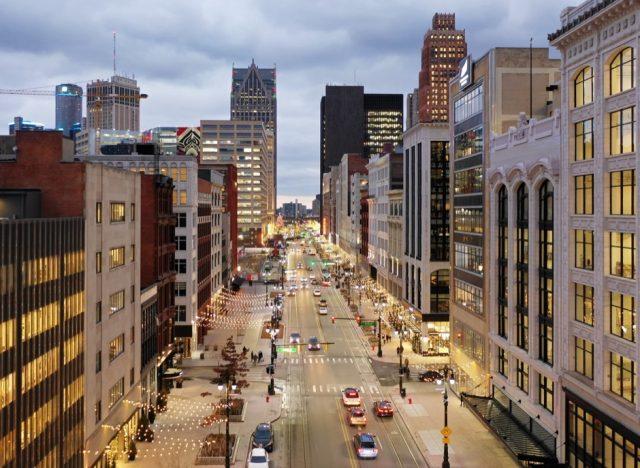 Detroit Woodward Ave