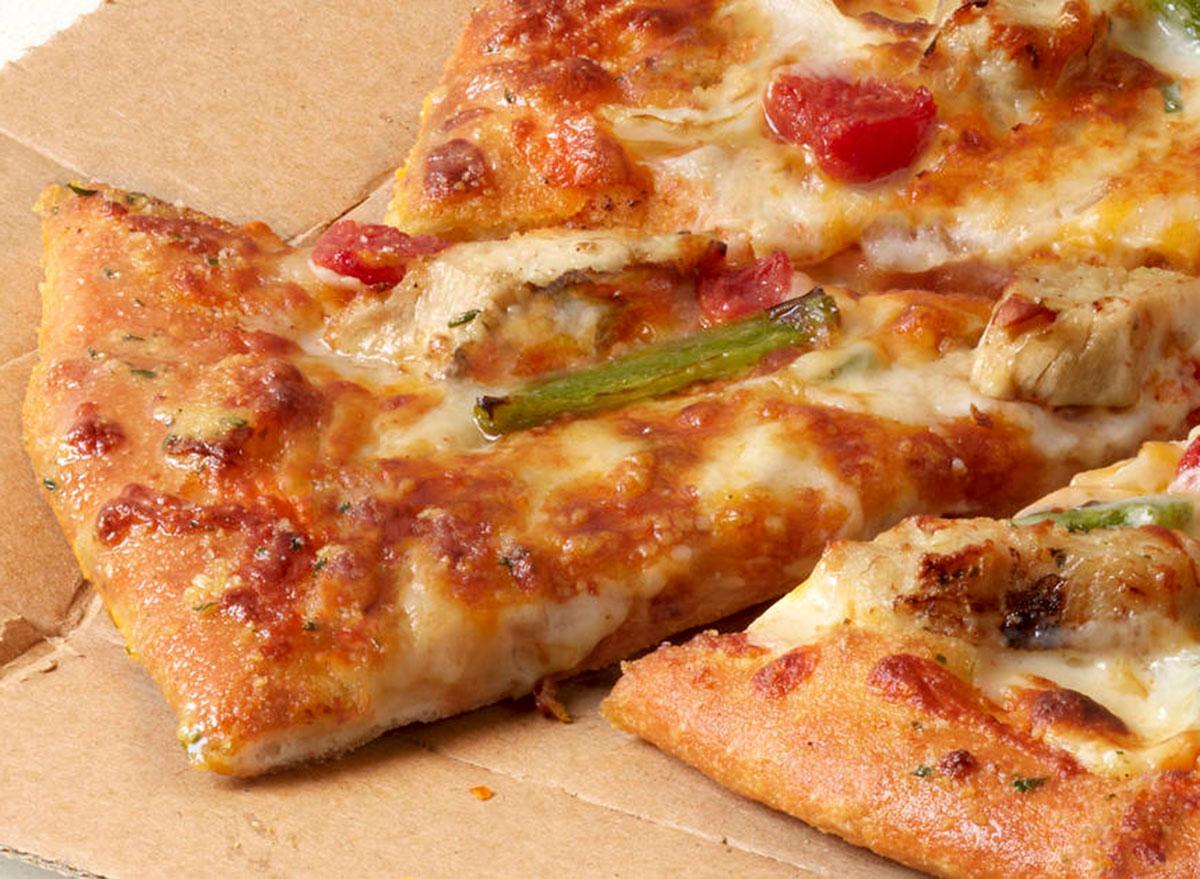 dominos taco chicken pizza