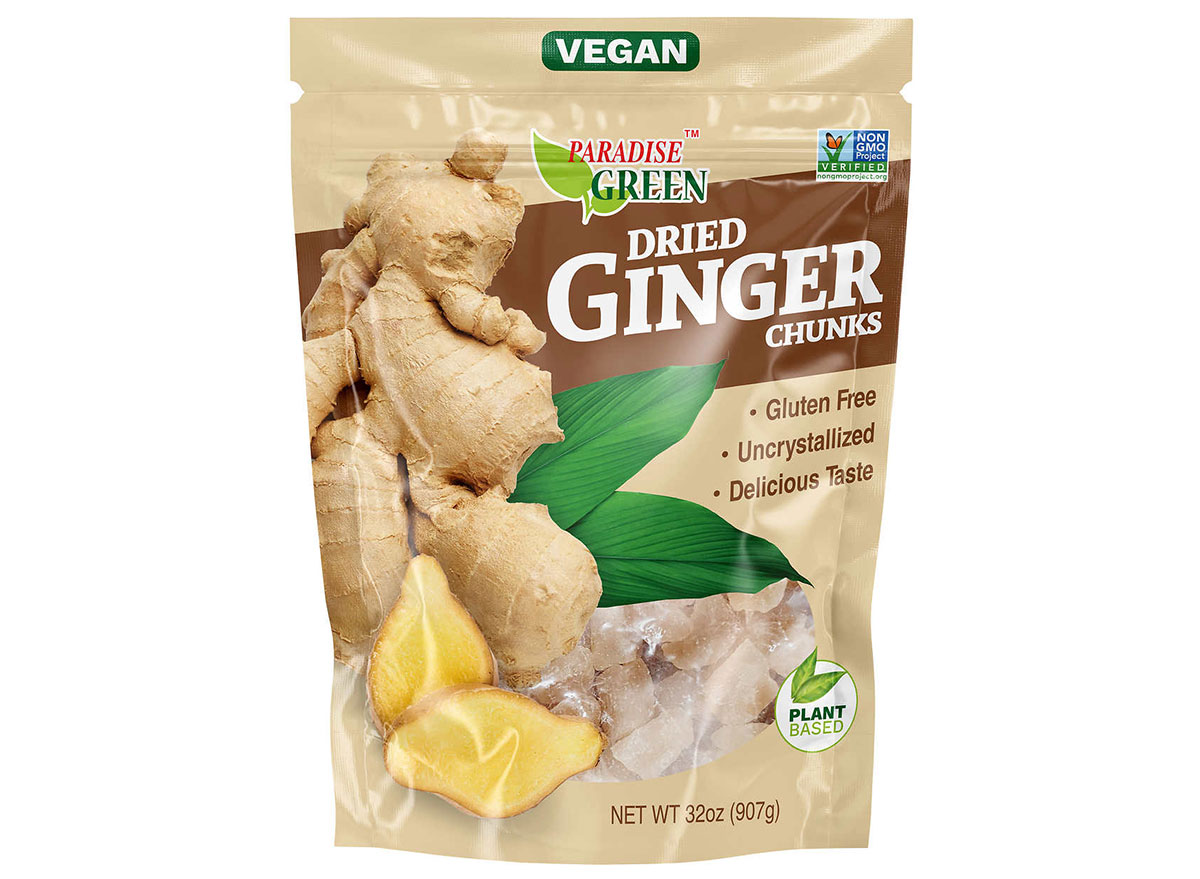 dried ginger chunks