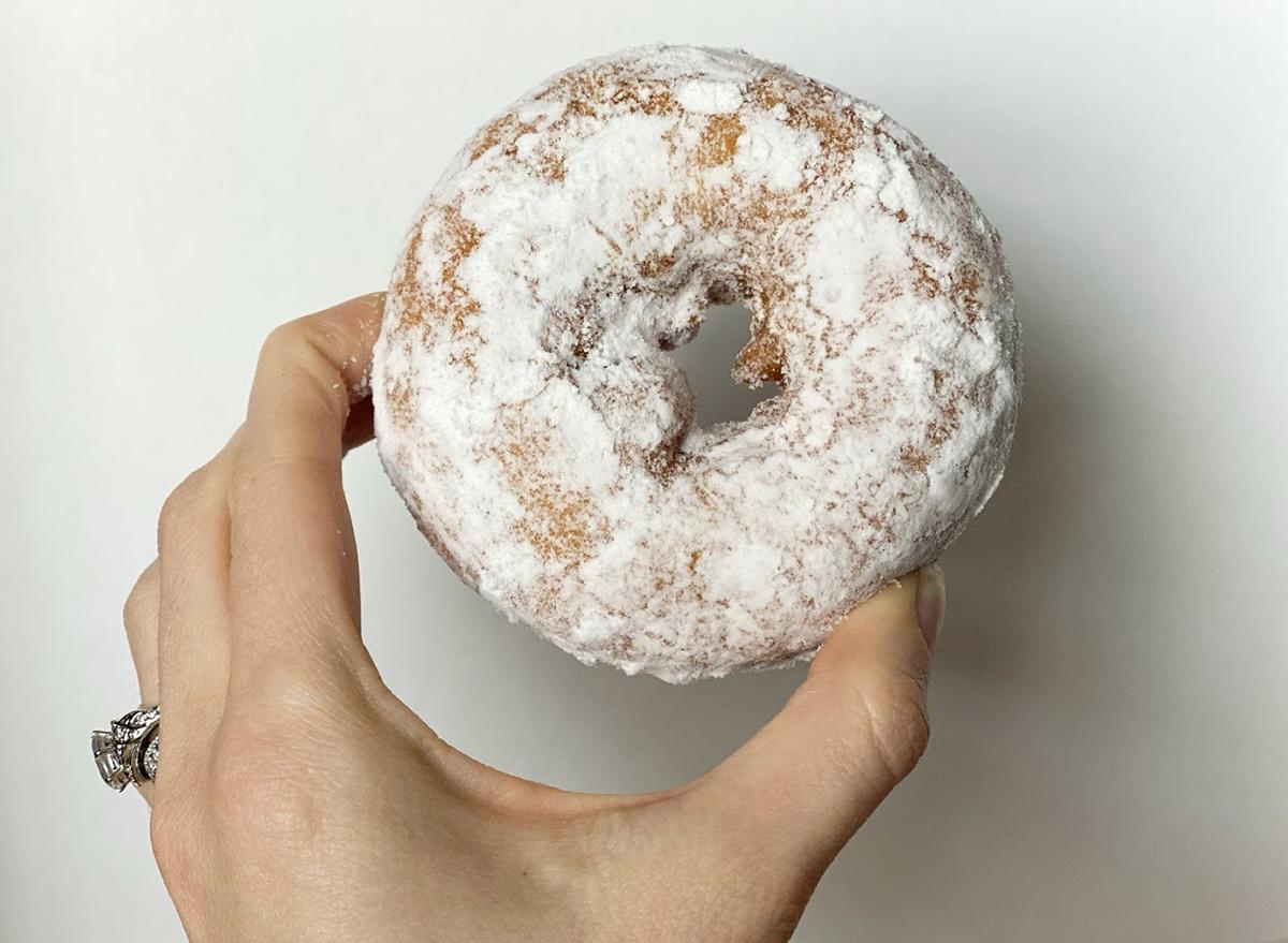 dunkin powdered donut