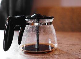 empty coffee pot