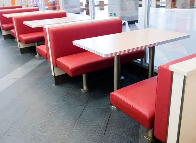 fast food interior restaurant
