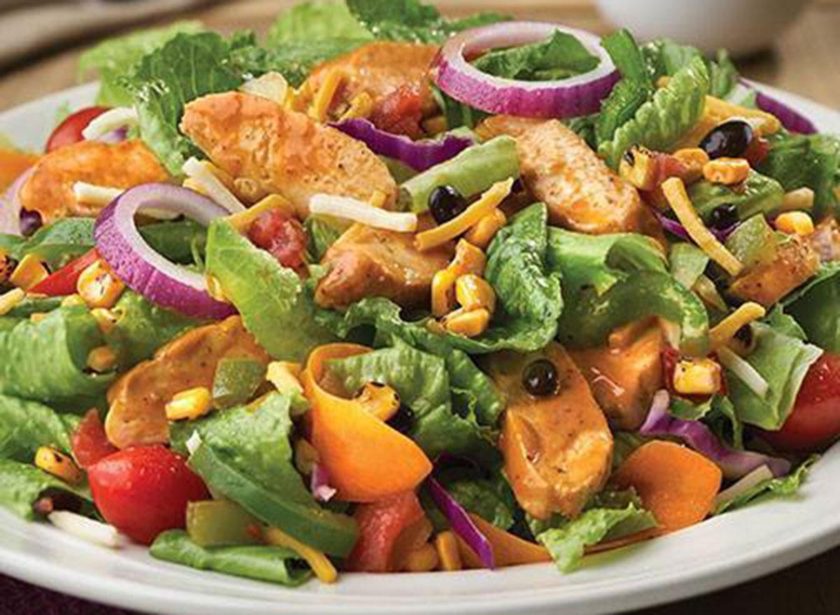 friendlys buffalo chicken salad