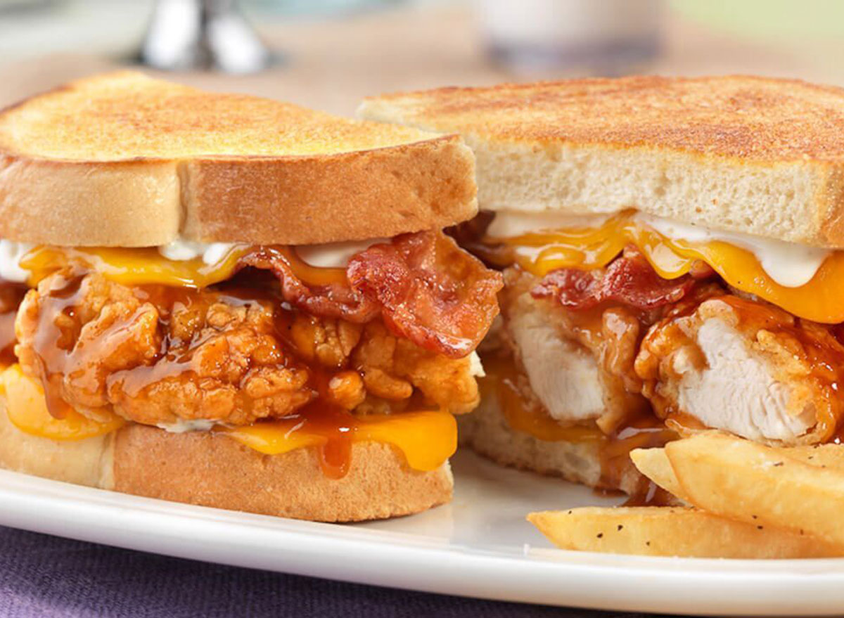 friendlys hot honey sandwich