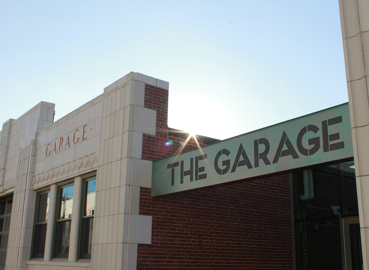 the garage food hall exterior