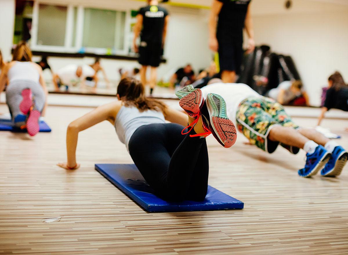 hiit workout class