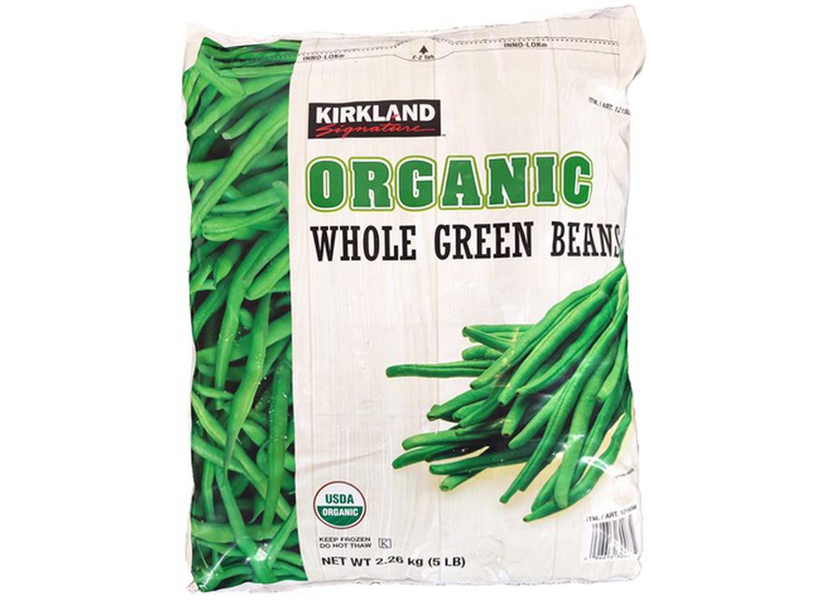 Kirkland Organic Frozen Green Beans