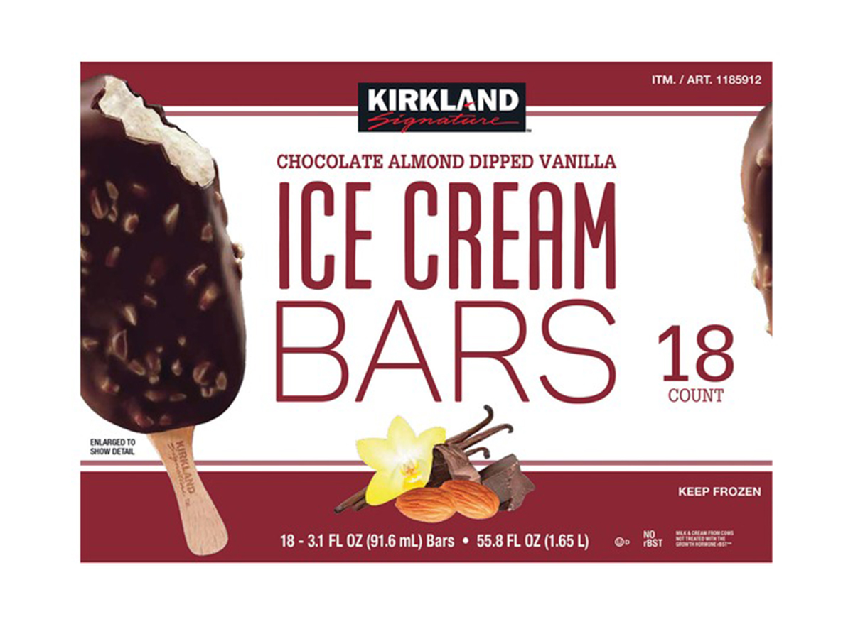 Kirkland ice cream bars