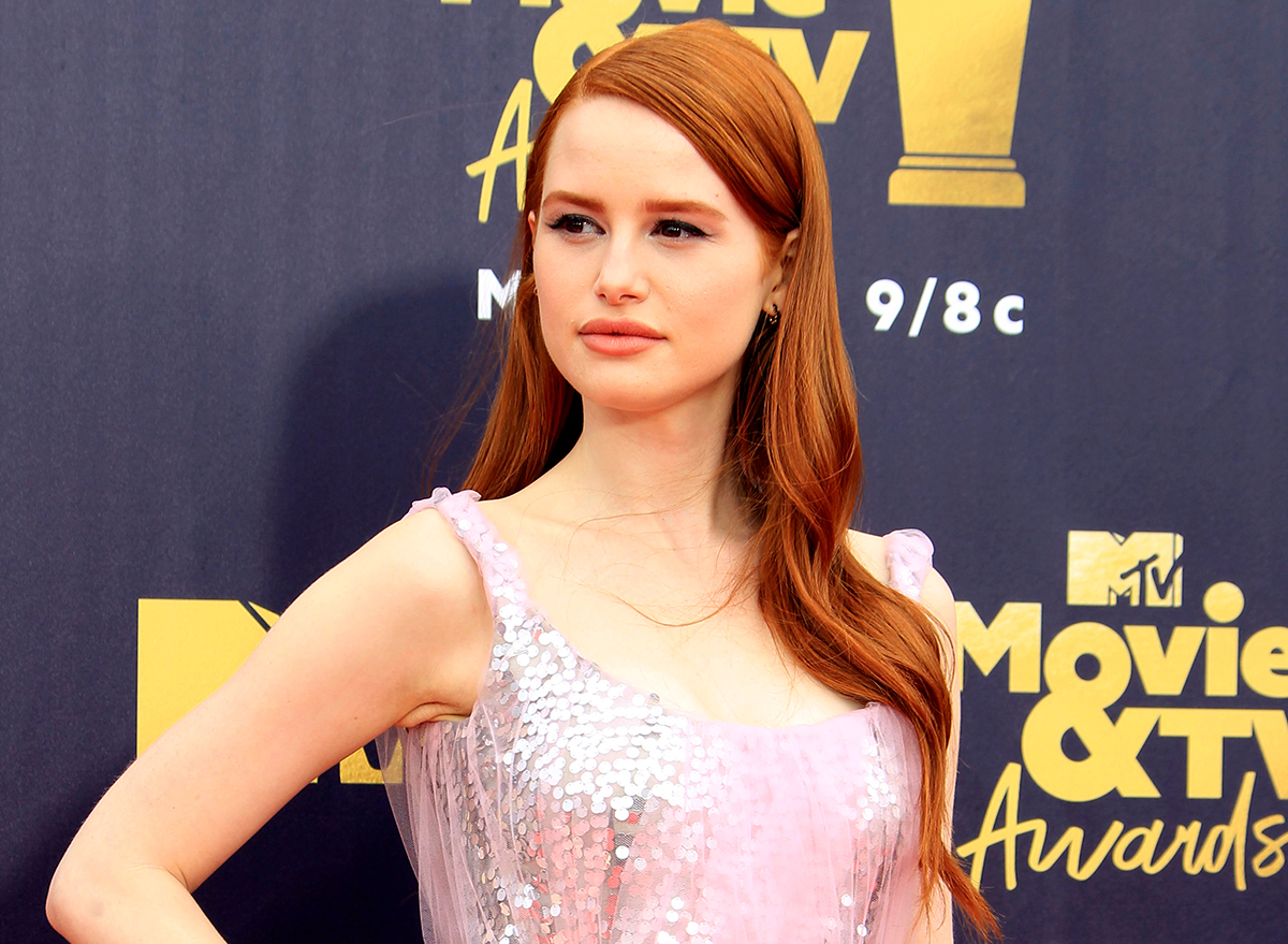 madelaine petsch on red carpet