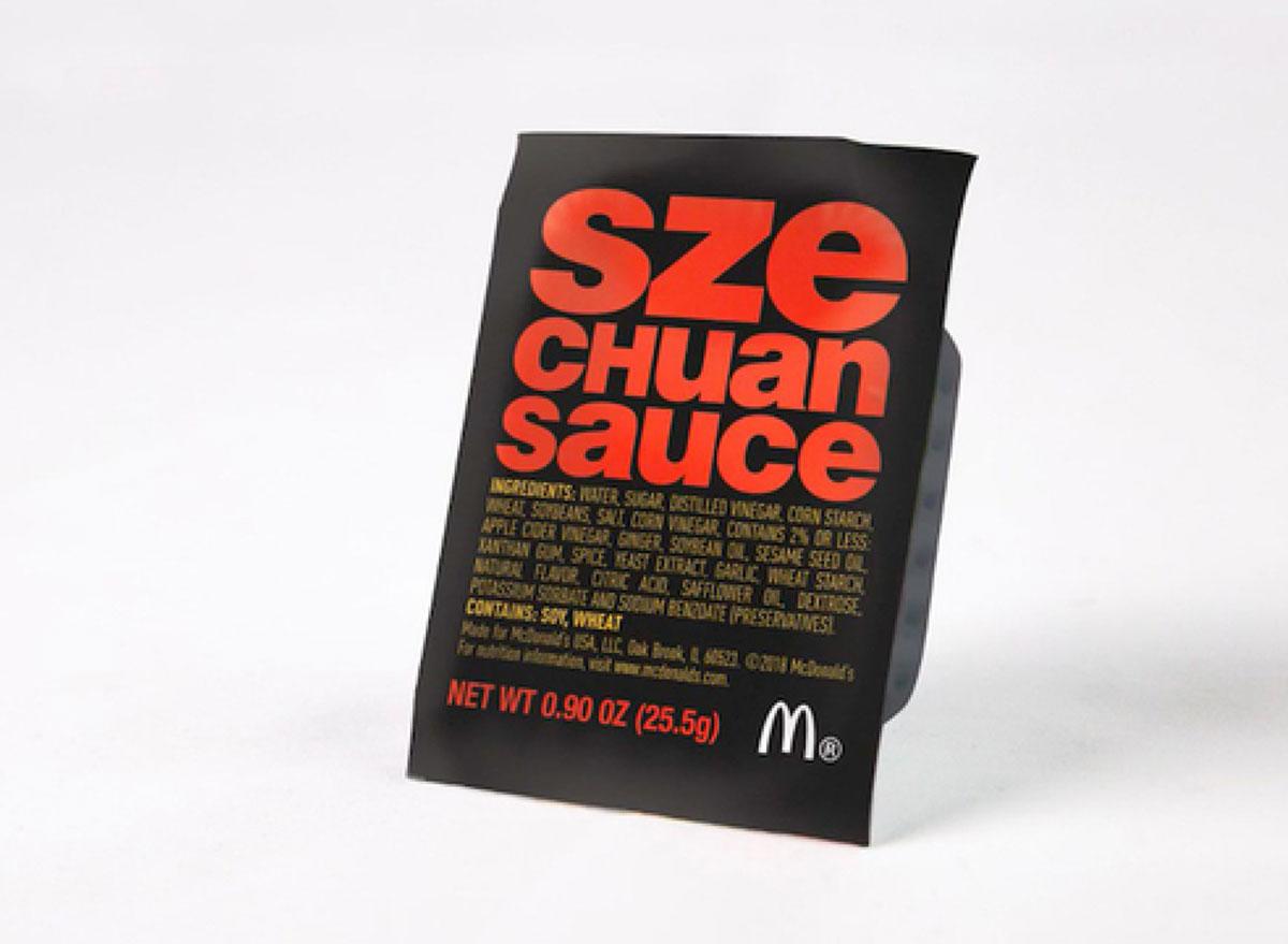 mcdonalds szechuan sauce