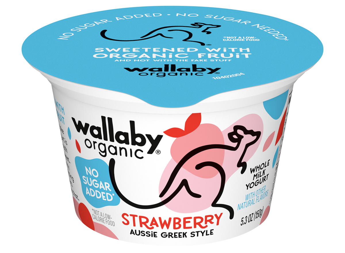 no sugar added wallaby organic yogurt