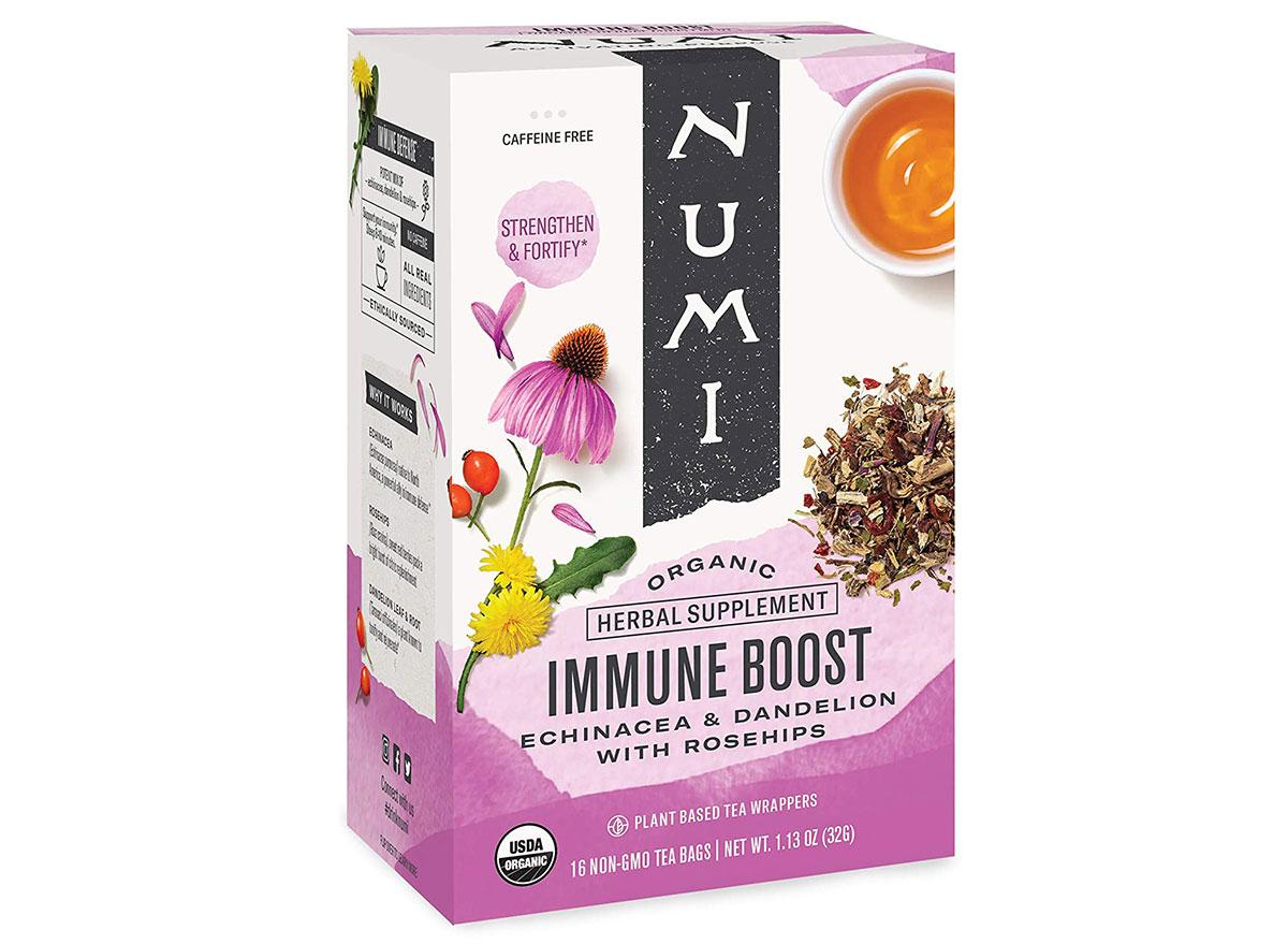 numi immune boost tea