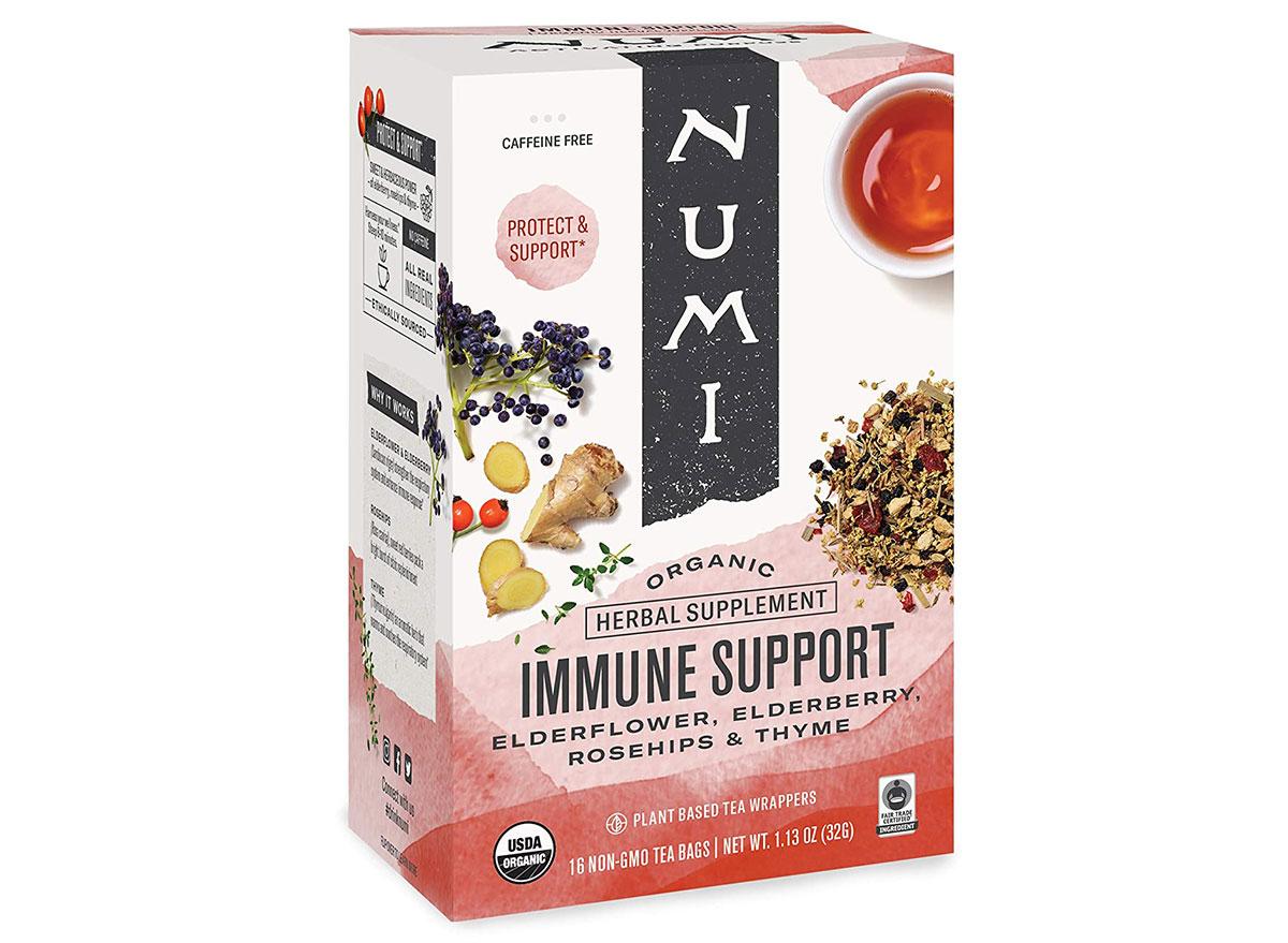 numi immune support tea