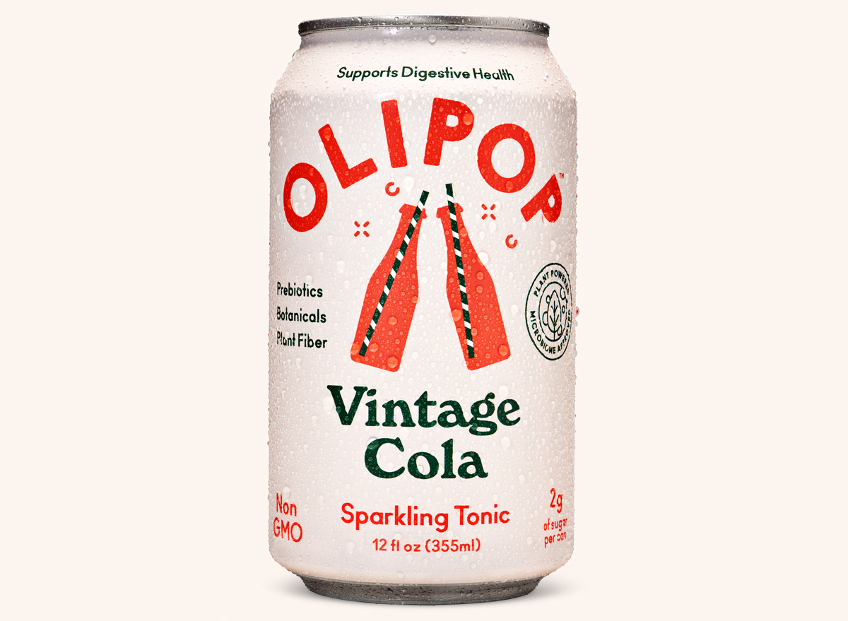 olipop vintage cola